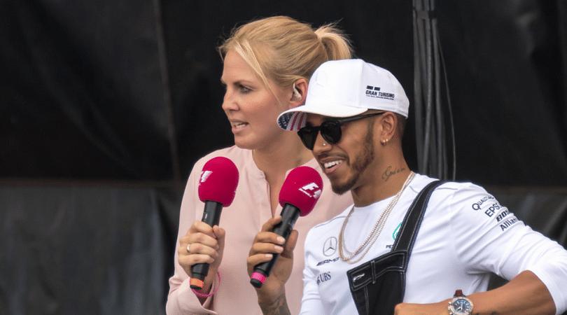 Lewis Hamilton and Nicki Minaj almost confirm relationship