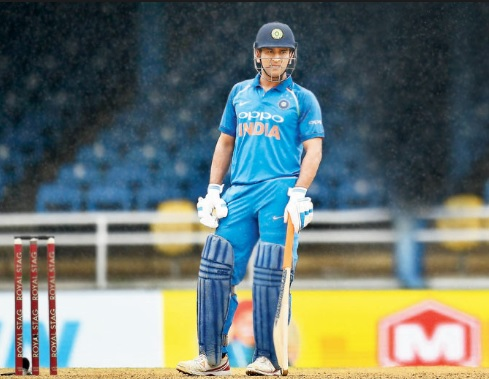 Dhoni's batting position in Asia Cup 2018