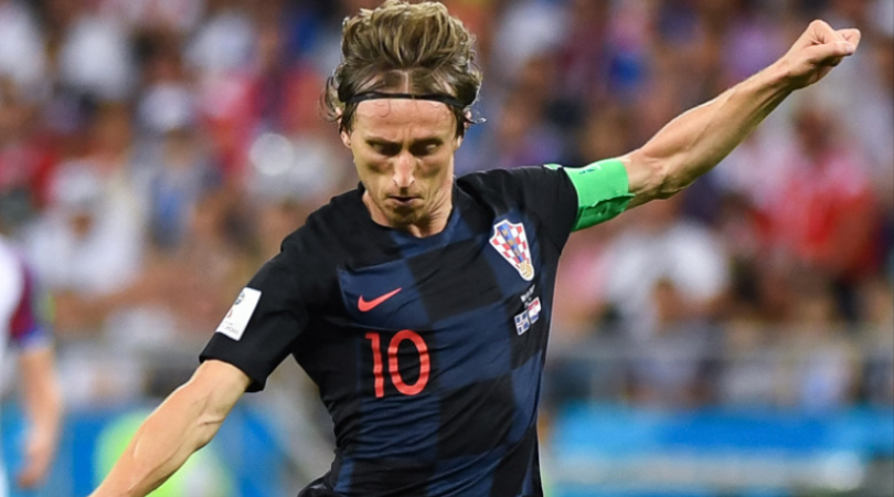 Modric wins FIFA Player of the year
