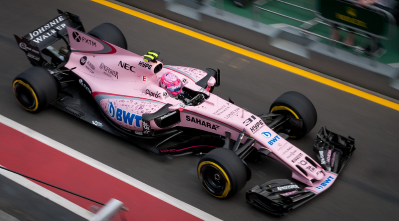 Ocon sends out a wonderful message to Lance Stroll