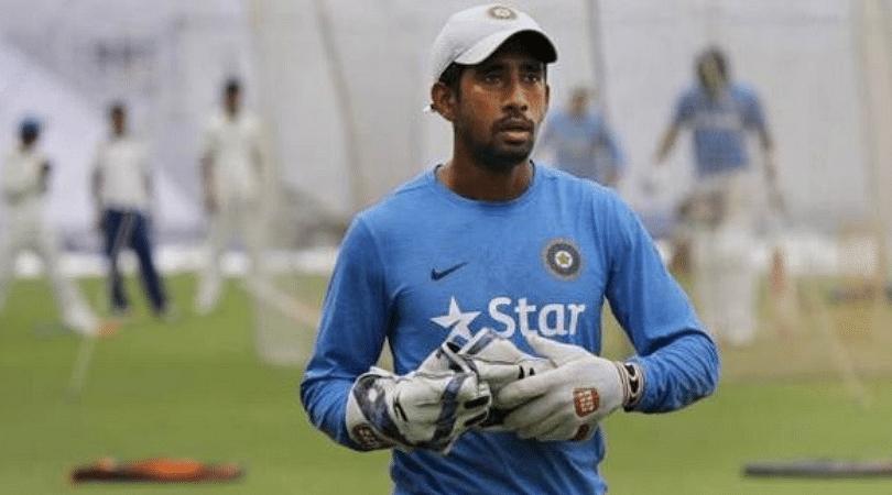 Wriddhiman Saha's injury update