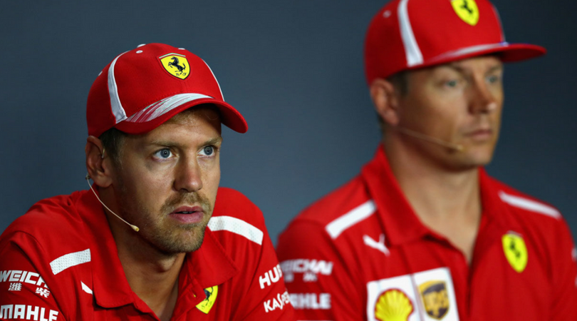 Vettel blames Hamilton for lap 1 crash