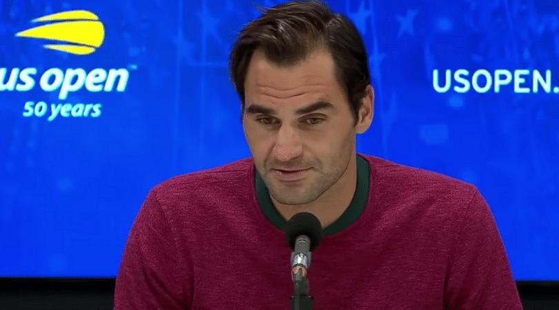Roger Federer blames New York weather