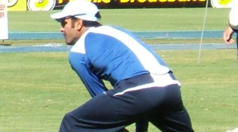 MS Dhoni coaches Indian players