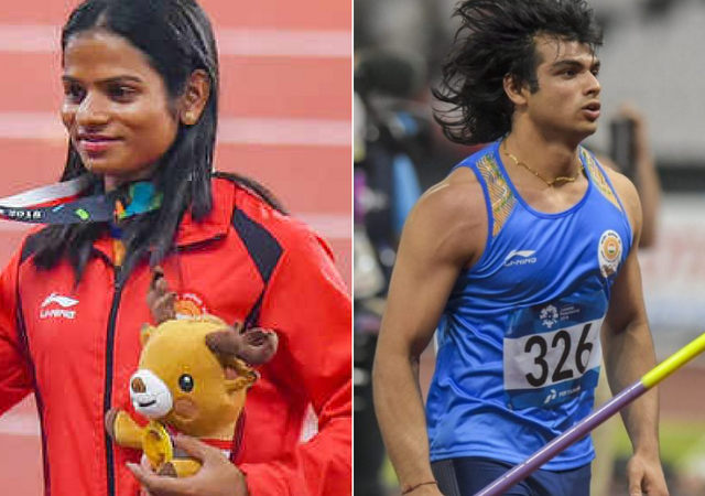 Indian athletics team at Asian Games