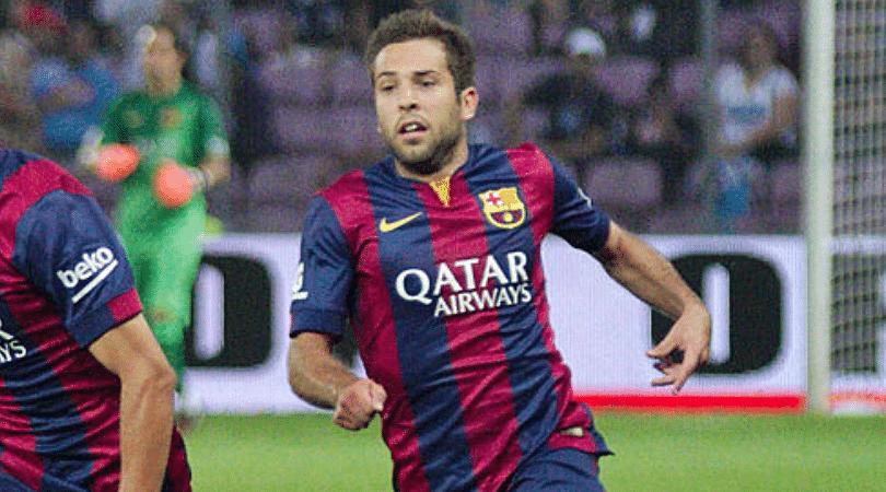 Jordi Alba new contract
