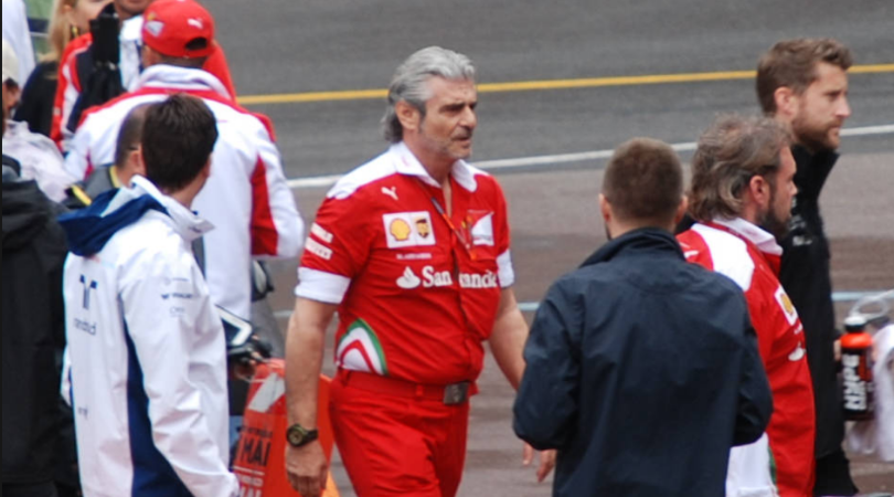 Arrivabene speaks about Kimi leaving and Vettel's chances