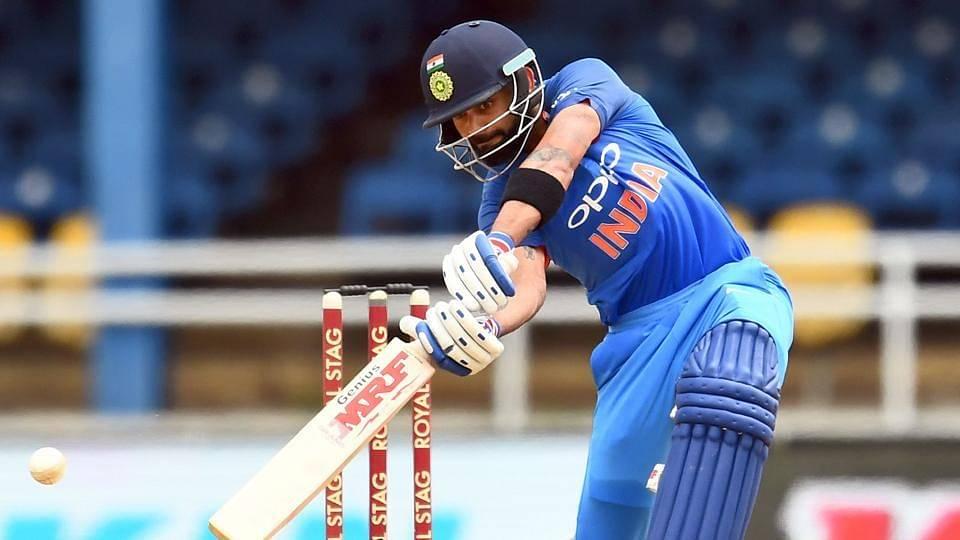 Kohli's celebrates his 37th ODI century