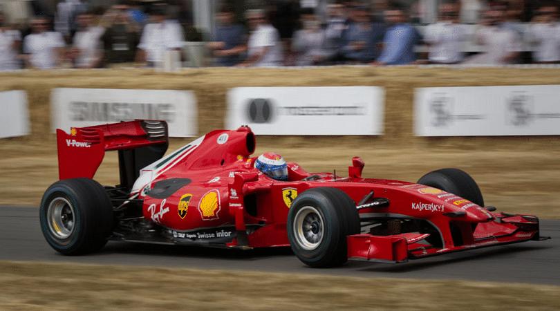 Ferrari new livery