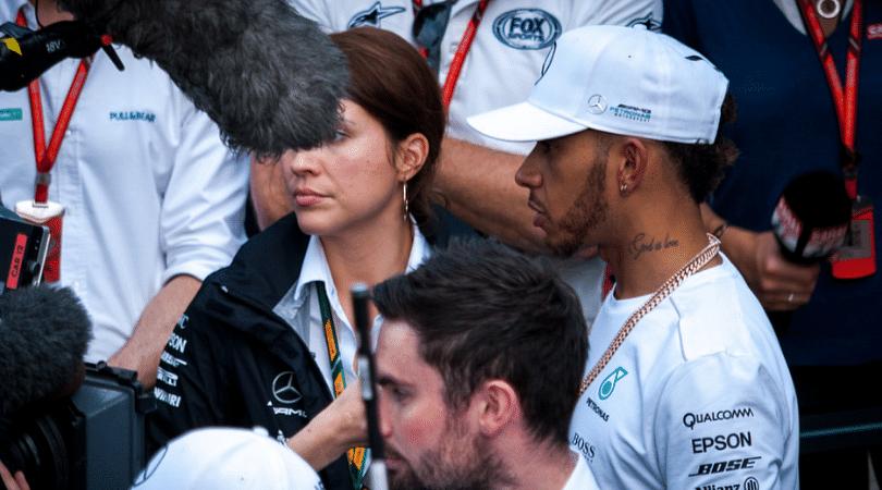 Hamilton talks about his pre-race rituals