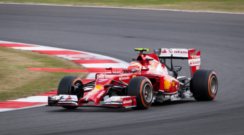 Kimi Raikkonen's amazing car control