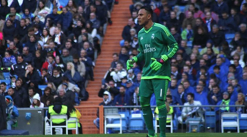 Keylor Navas on Cristiano Ronaldo