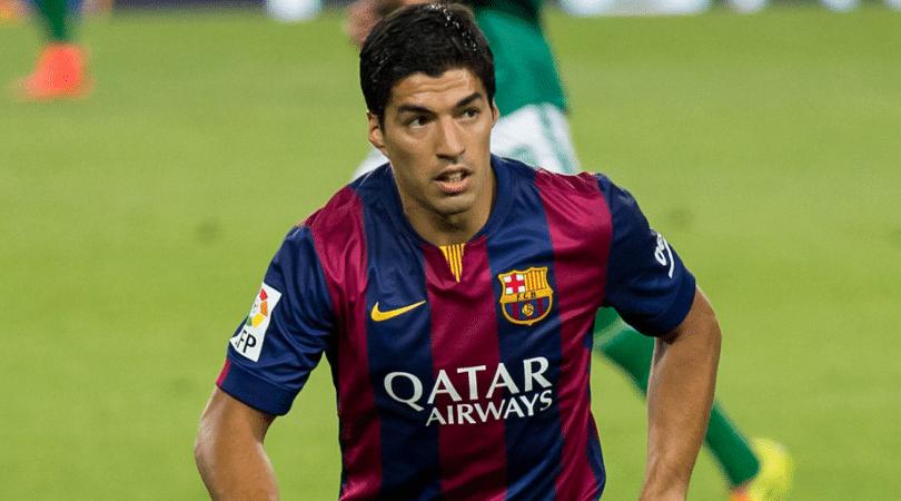 Luis Suarez hattrick in El Clasico
