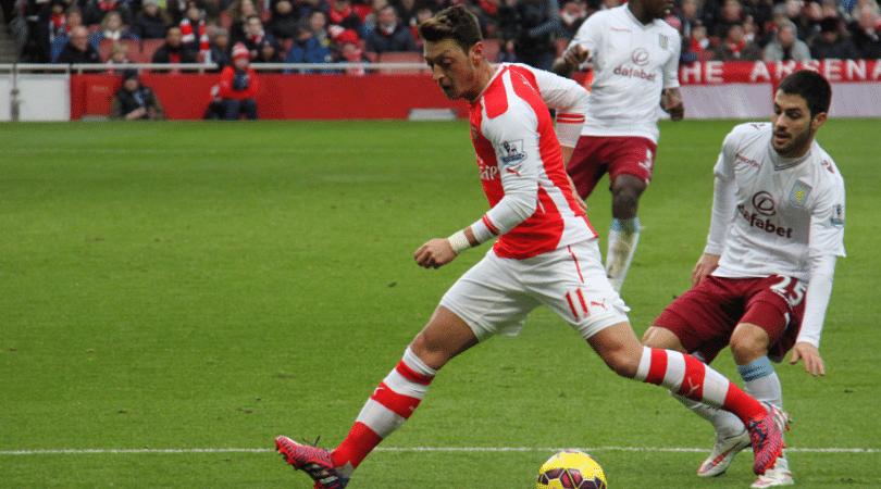 Arsenal goal vs Leicester