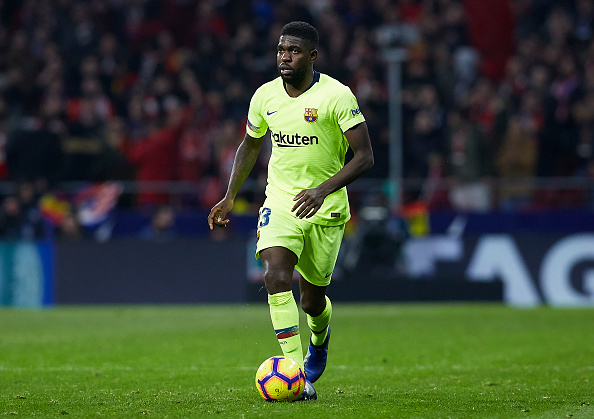 Samuel Umtiti injury update
