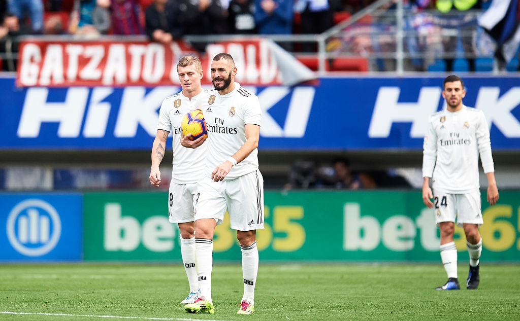 Eibar vs Real Madrid highlights
