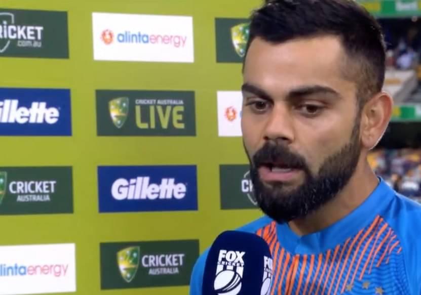 Virat Kohli on India's loss in Brisbane T20I