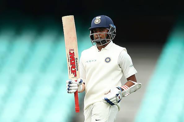 Prithvi Shaw to miss the first Test vs Australia