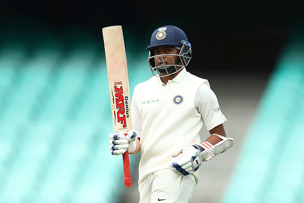 Who should replace Prithvi Shaw in first Test