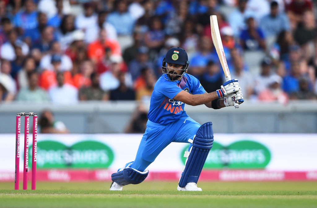 India announce 12-member squad for 1st T20I