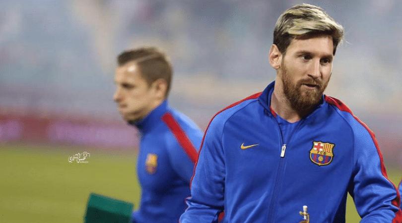 Messi in squad vs Inter Milan