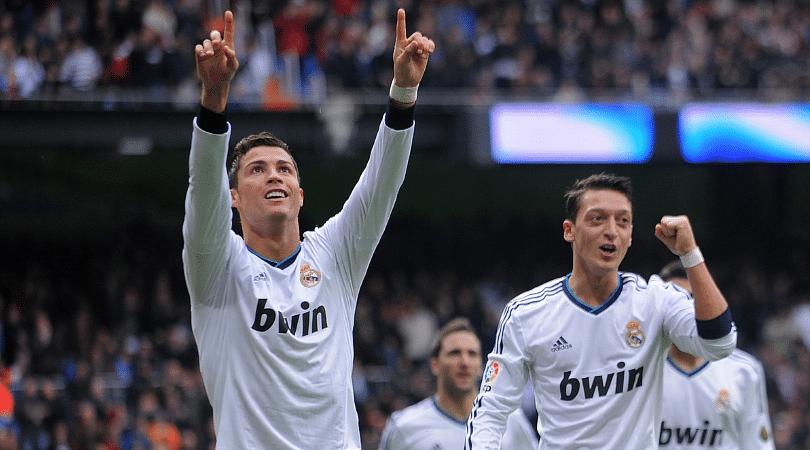 Ronaldo on Ozil