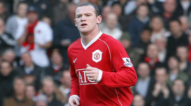 Wayne Rooney on Manchester United