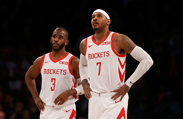 Lakers trade rumors: LeBron James likes Instagram post with Melo in Lakers Jersey