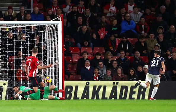 Ander Herrera goal vs Southampton