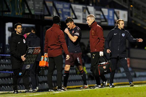 Laurent Koscielny injury update