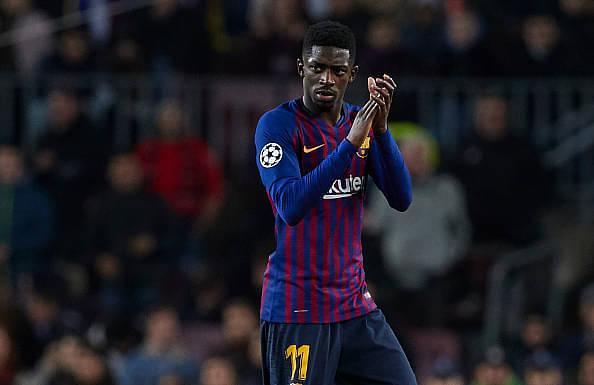 Barcelona's rule for Dembele