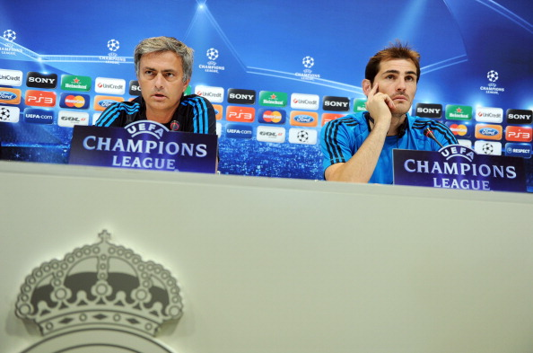 Iker Casillas takes a dig at Mourinho