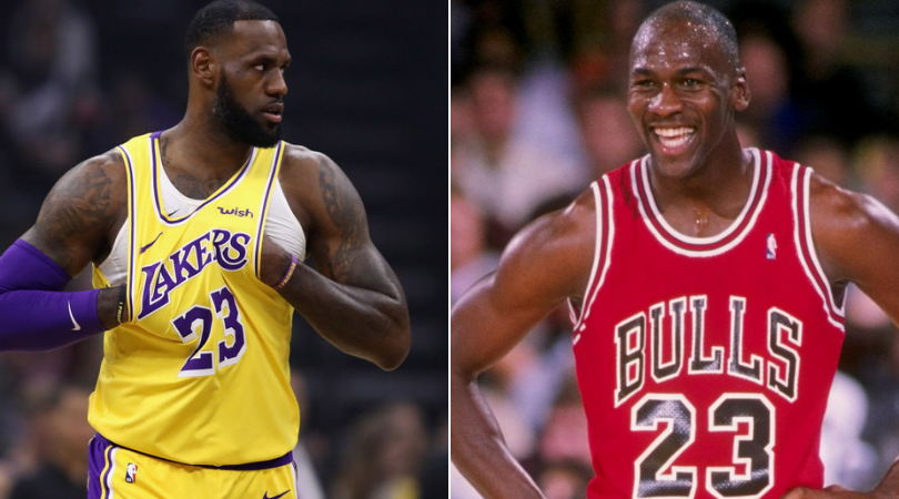 Contaminado intelectual compilar  LeBron talks about the first time he met Michael Jordan | The SportsRush