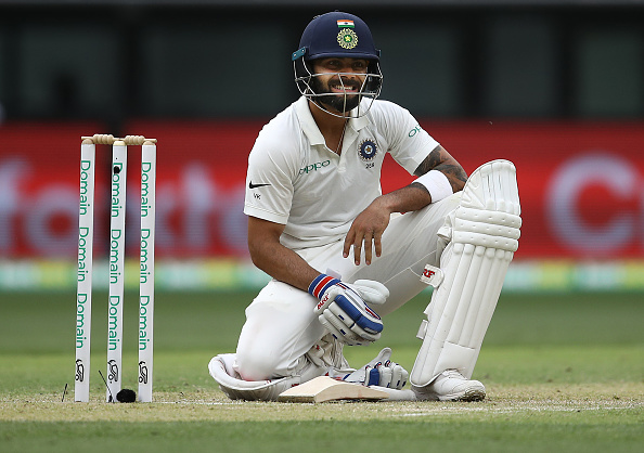 Kohli and Paine involved in verbal clash
