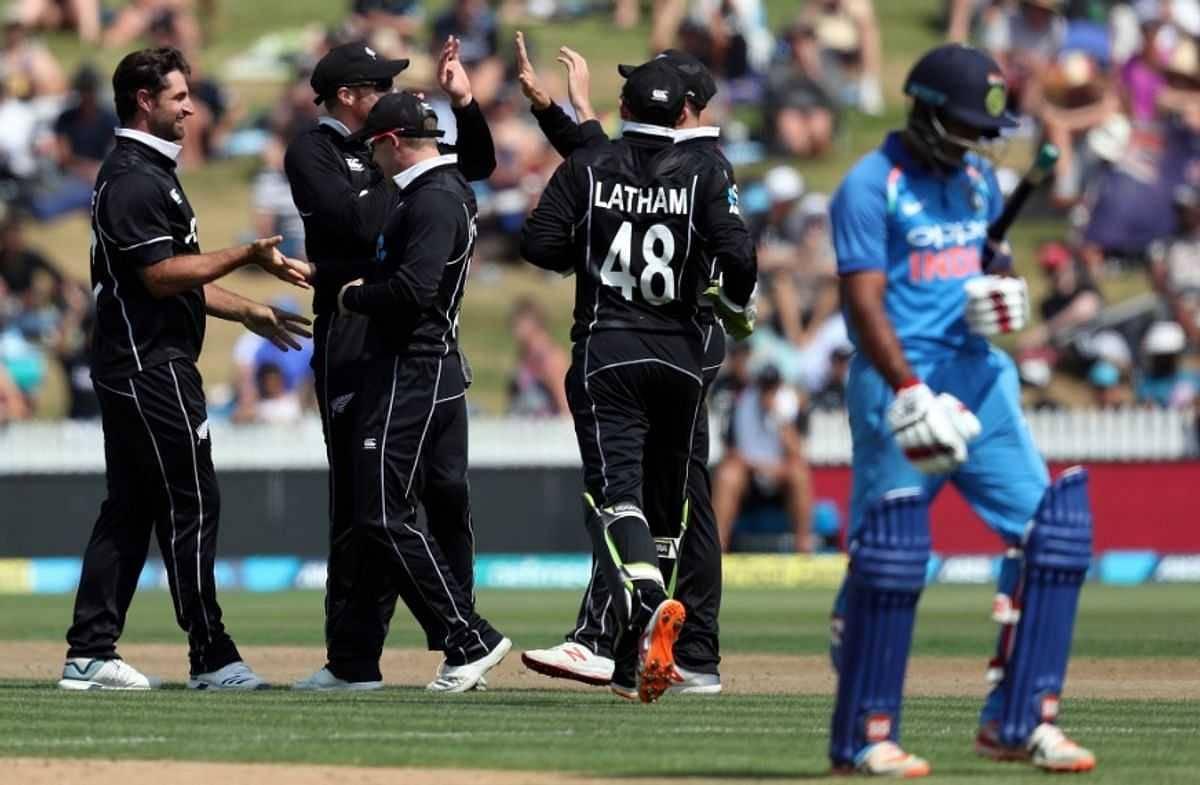 Rohit Sharma blames the batsmen for crushing Hamilton defeat