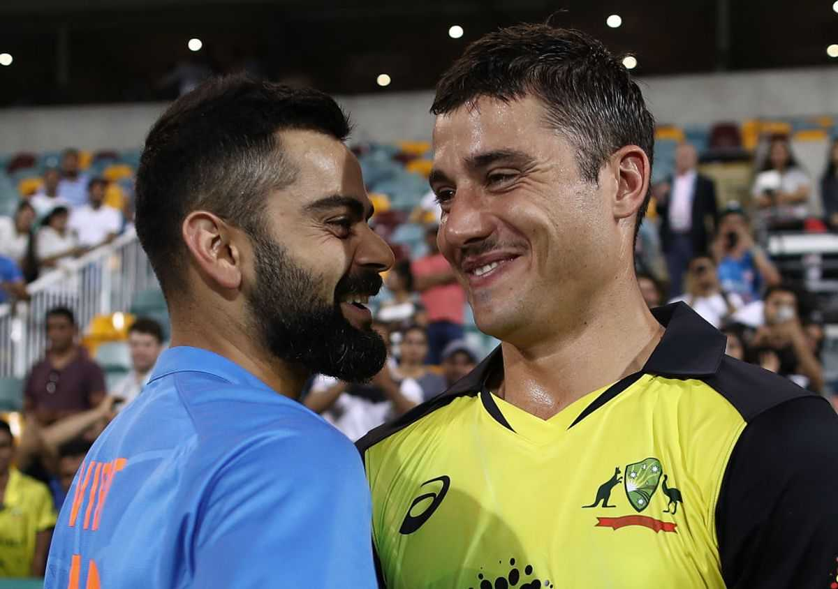 Australia include Marcus Stoinis for Canberra Test