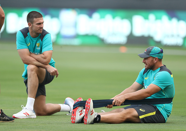 Aaron Finch and Mitchell Marsh dropped