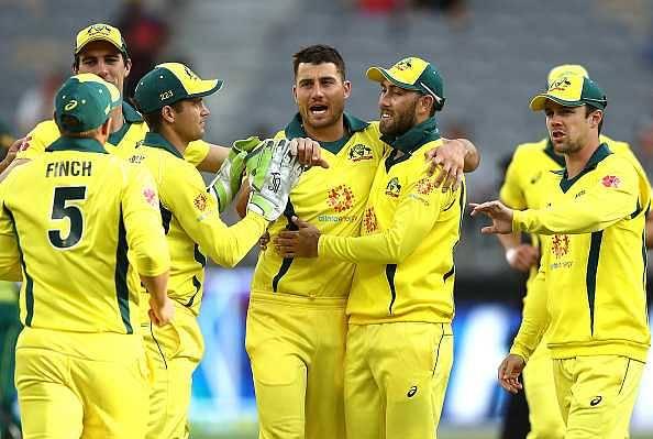 Australia announce 14-member squad for India ODI series