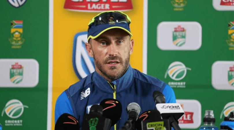 du Plessis discloses why SA forgave Sarfraz Ahmed