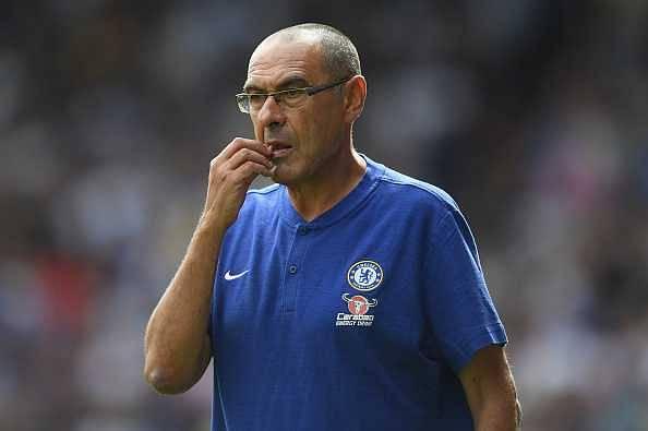 Maurizio Sarri attacks Chelsea players