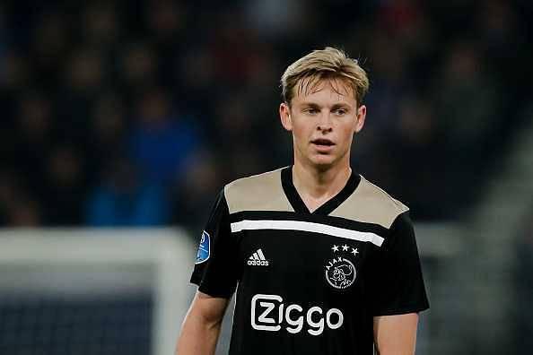 Frenkie De Jong to Barcelona
