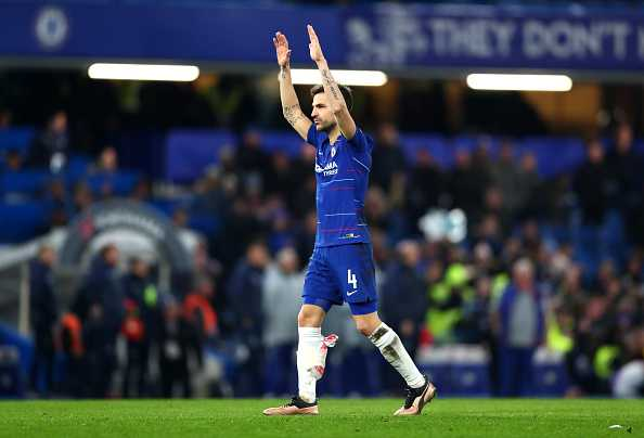 Fabregas farewell at Chelsea