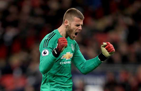 De Gea after game against Tottenham