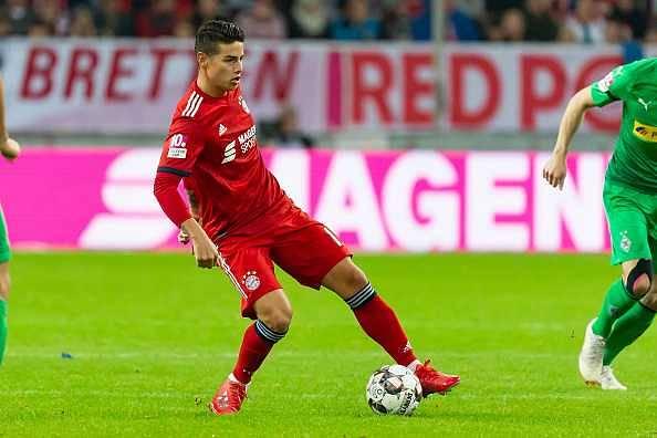 James Rodriguez transfer news