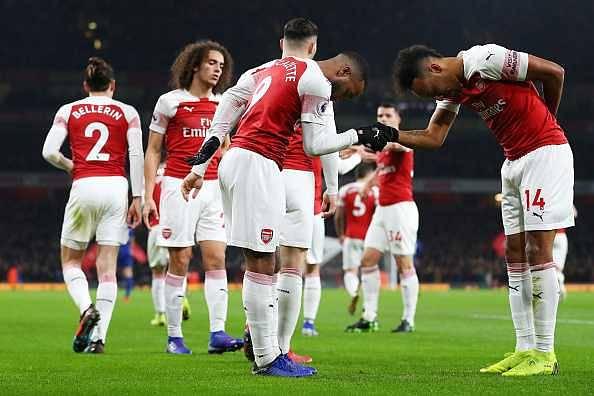 Arsenal team news Vs Cardiff City