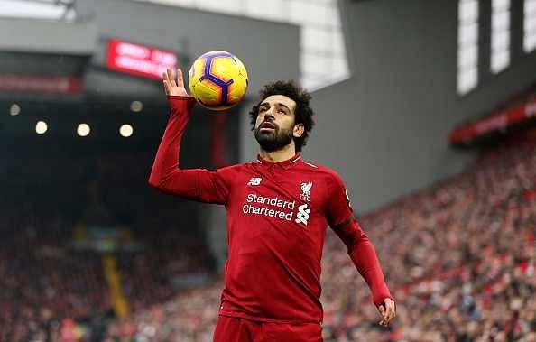 Mohamed Salah dive against Crystal Palace