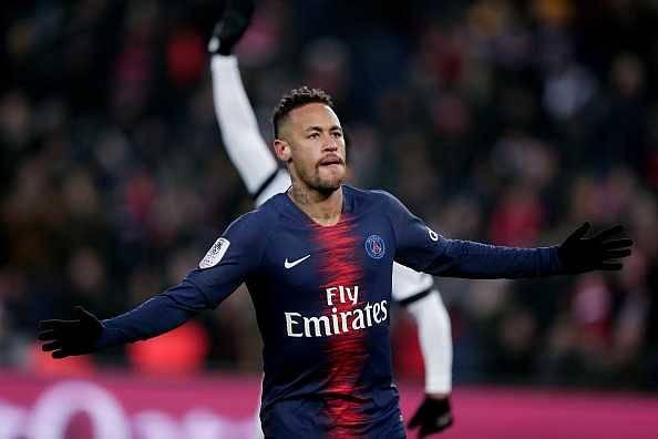 Neymar's back-pass vs Guingamp