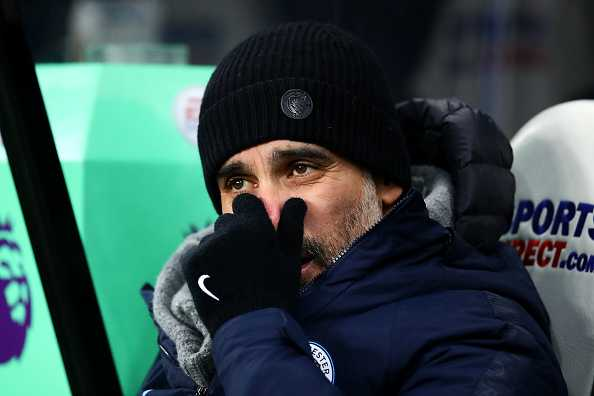 Pep Guardiola forgets Aguero's disallowed goal