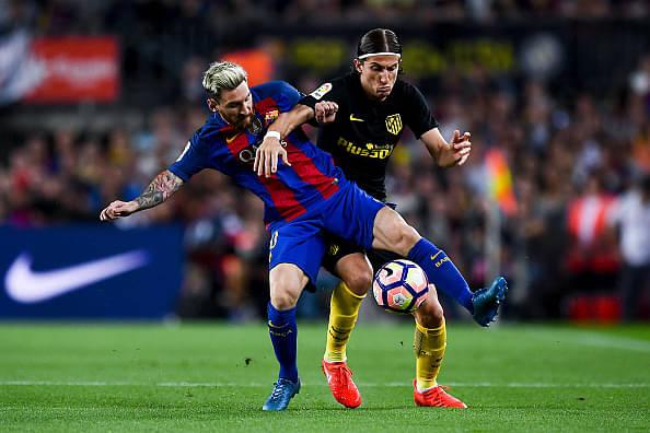 Filipe Luis on Lionel Messi
