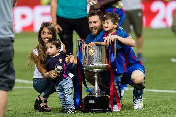 My son criticizes me says Messi